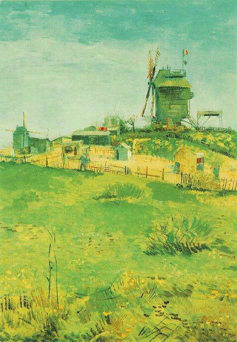1887 Le moulin de la galette