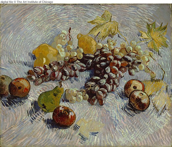 1887 Nature morte avec fruits