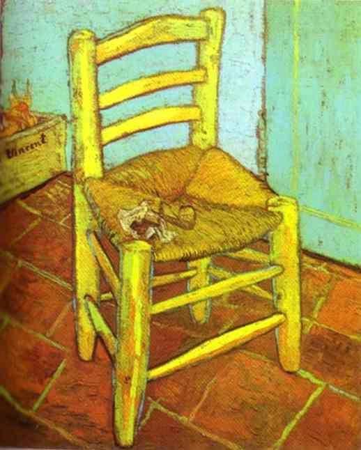 1888 Chaise de Vincent et pipe
