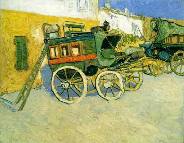 1888 La diligence de Tarascon