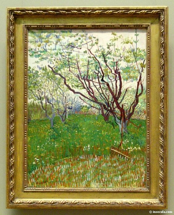 1888 Le verger en fleur