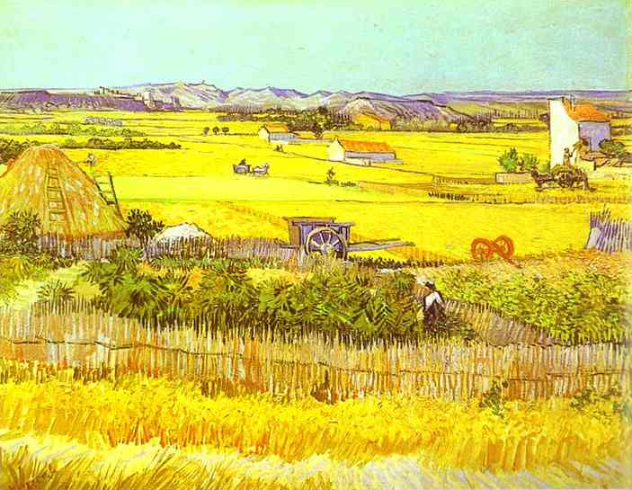1888 Paysage de moisson