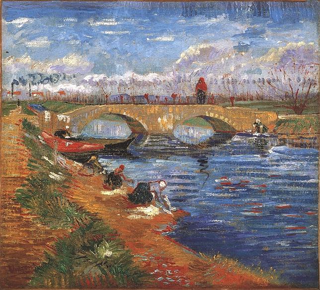 1888 Pont sur le canal Vigueirat