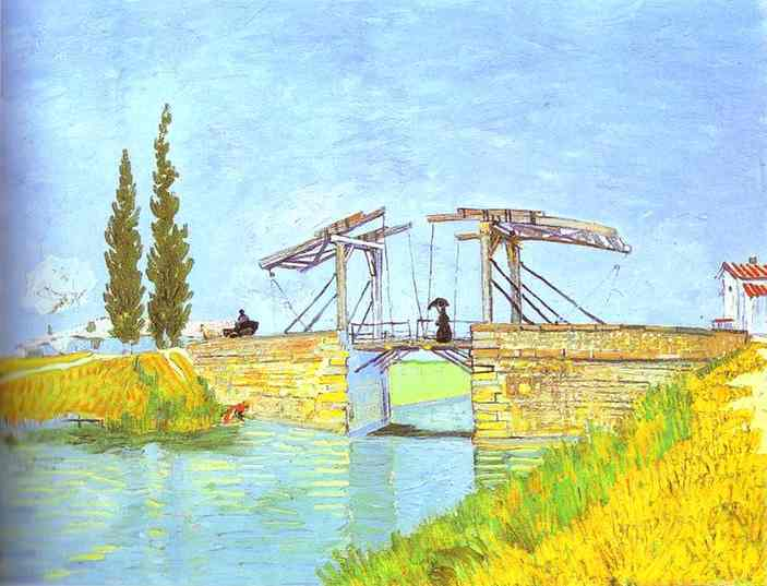 1888 Pont-levis et dame au parasol