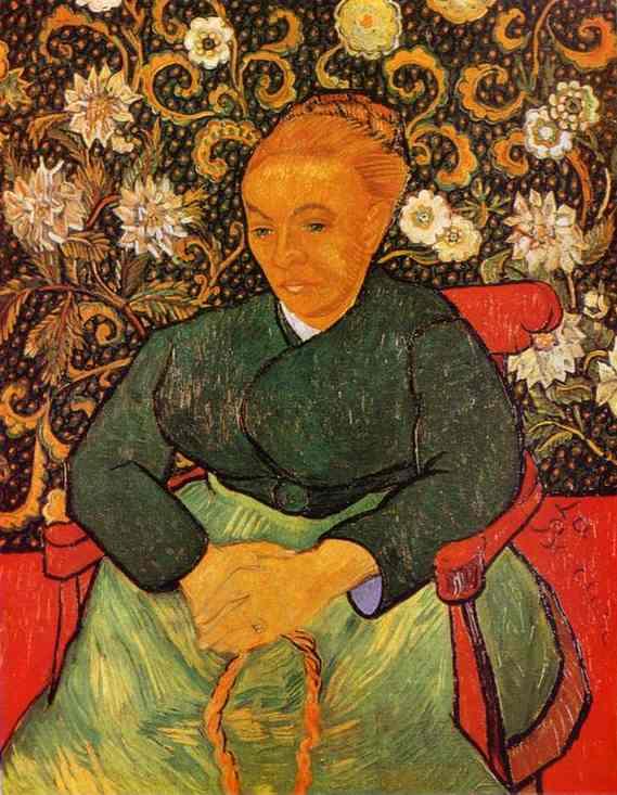 1889  Portrait de Madame Roulin
