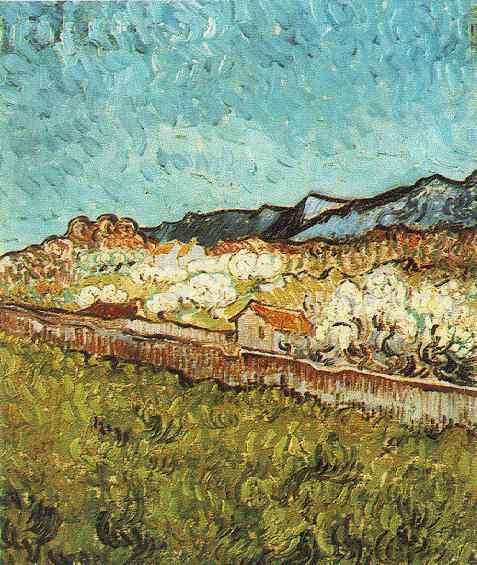 1889 Aux pieds des montagnes