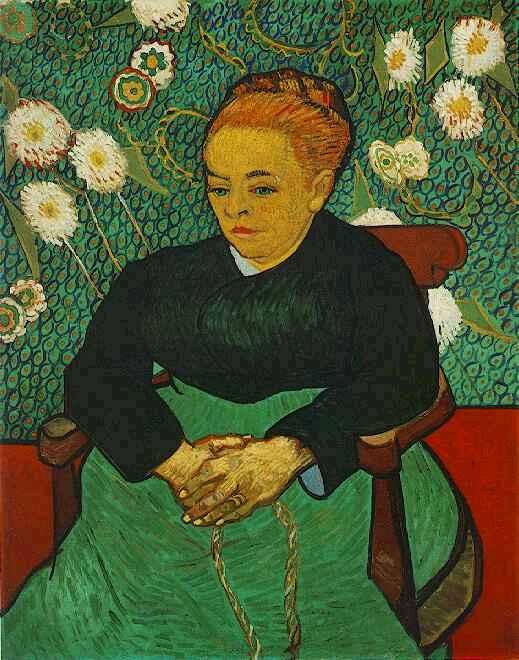 1889 La berceuse (Augustine Roulin) 2