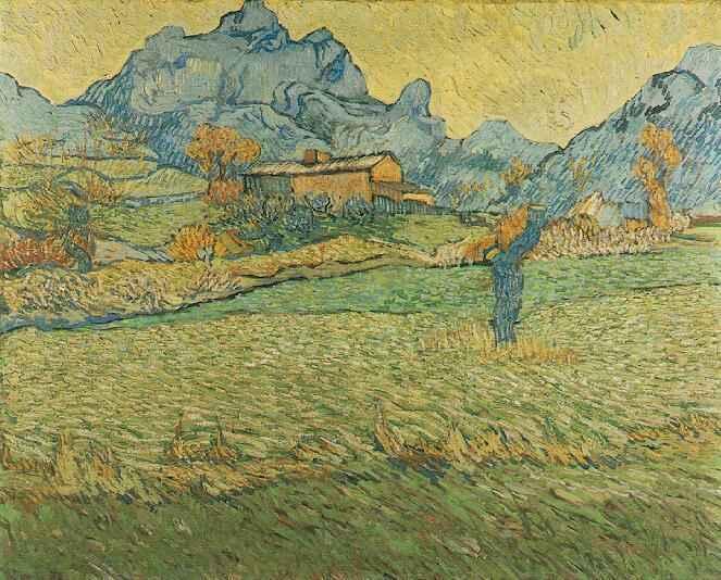 1889 Le Mas de Saint-Paul
