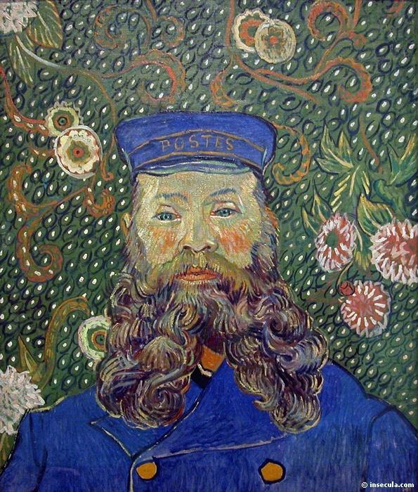 1889 Le postier Joseph Roulin 1