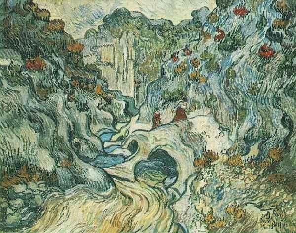 1889 Les Peiroulet Ravine