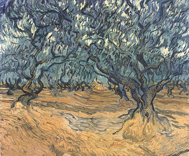 1889 Les oliviers 2