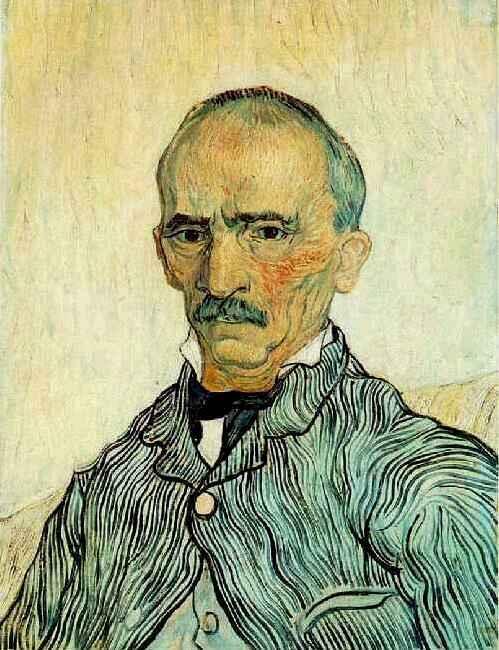1889 Portrait de Monsieur Trabuc