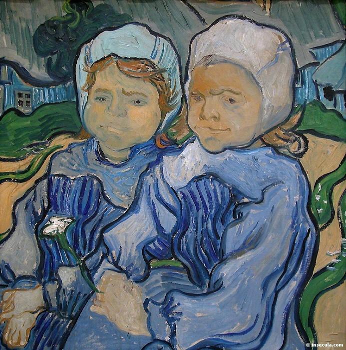 1890 Deux fillettes