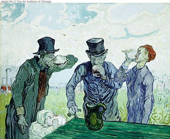 1890 Les buveurs