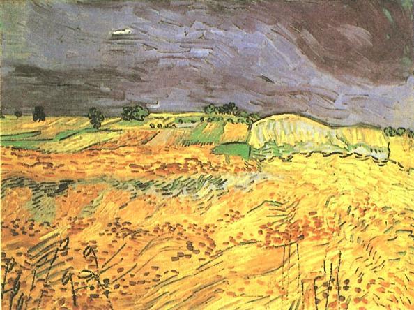 1890 Les champs