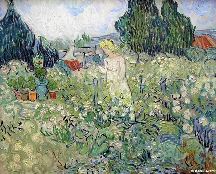 1890 Mademoiselle Gachet au jardin