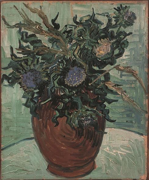 1890 Vase et fleurs 1
