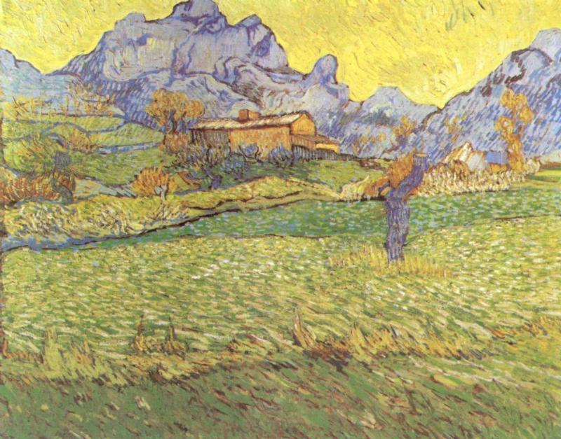 A Meadow in the Mountains - Le Mas de Saint-Paul