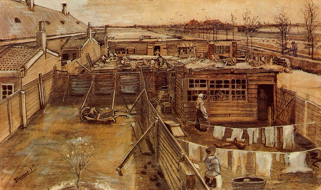 Carpenter's Workshop, Seen from the Artist's studio