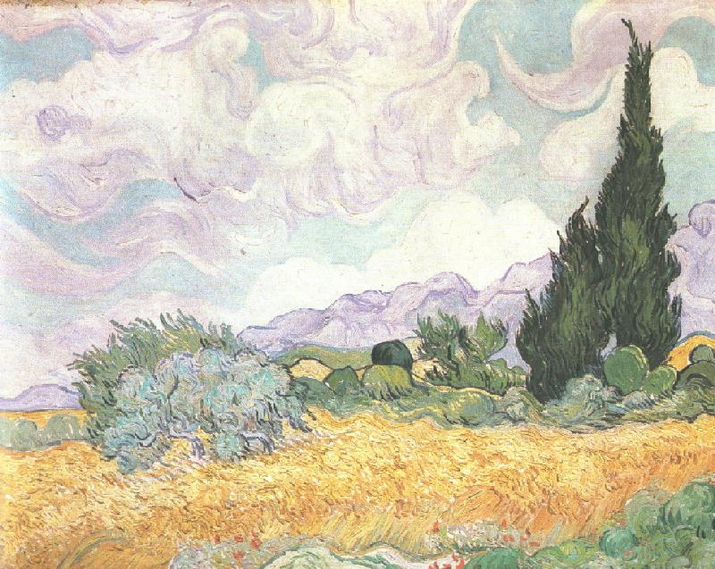 Cornfield_and_Cypresses,_Saint-Remy,_1889