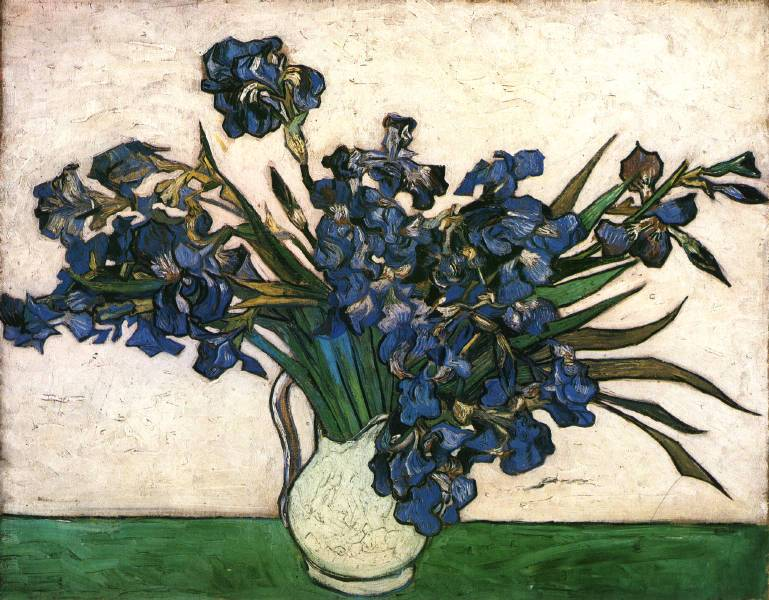 Irises-_Pink&Green,_1890