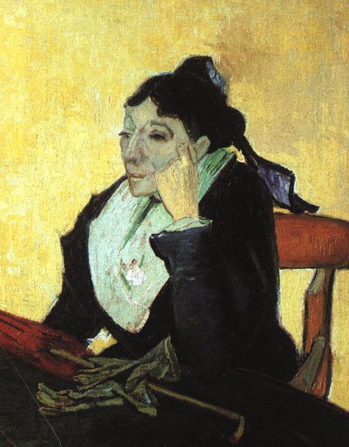 L'Arlesienne - Madame Ginoux with Gloves and Umbrella