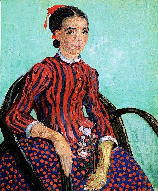 La Mousme, Sitting
