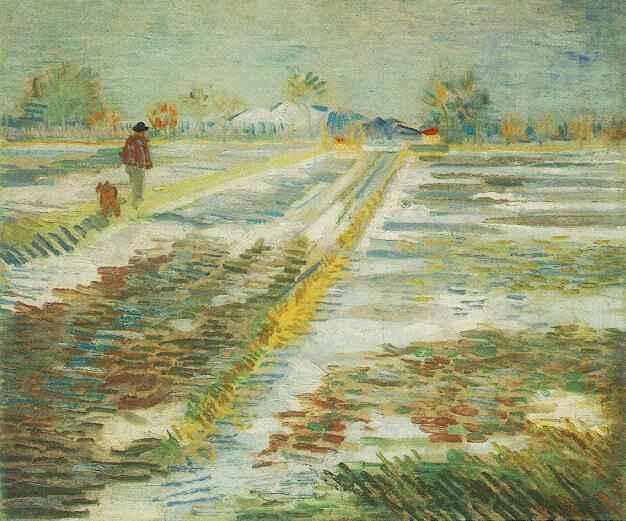 Landscape with Snow