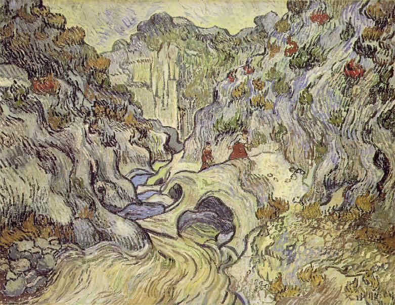 Les Peiroulets Ravine