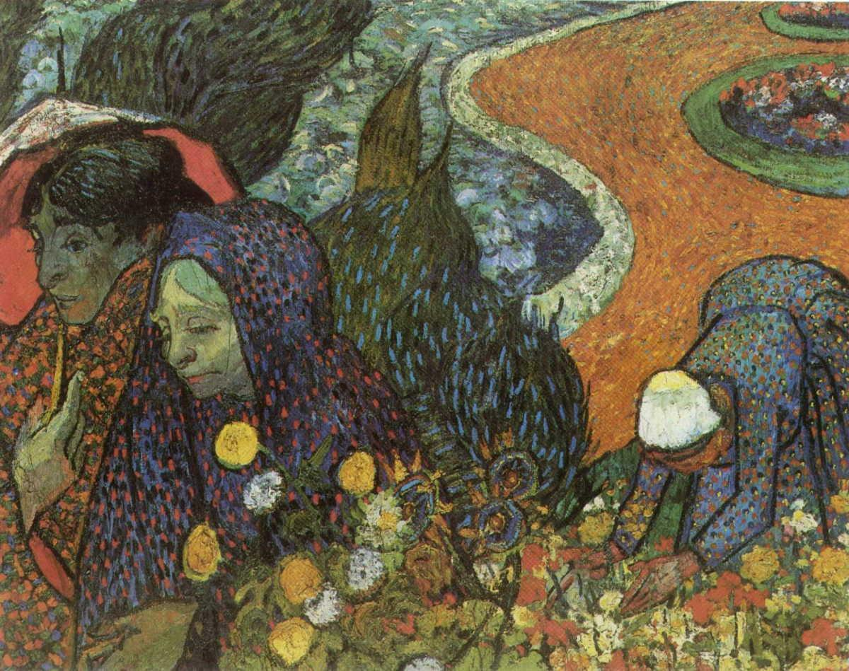 Memory of the Garden at Etten, Women of Arles