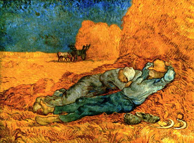 Noon,_Rest_From_Work,_After_Millet,_1889-1890