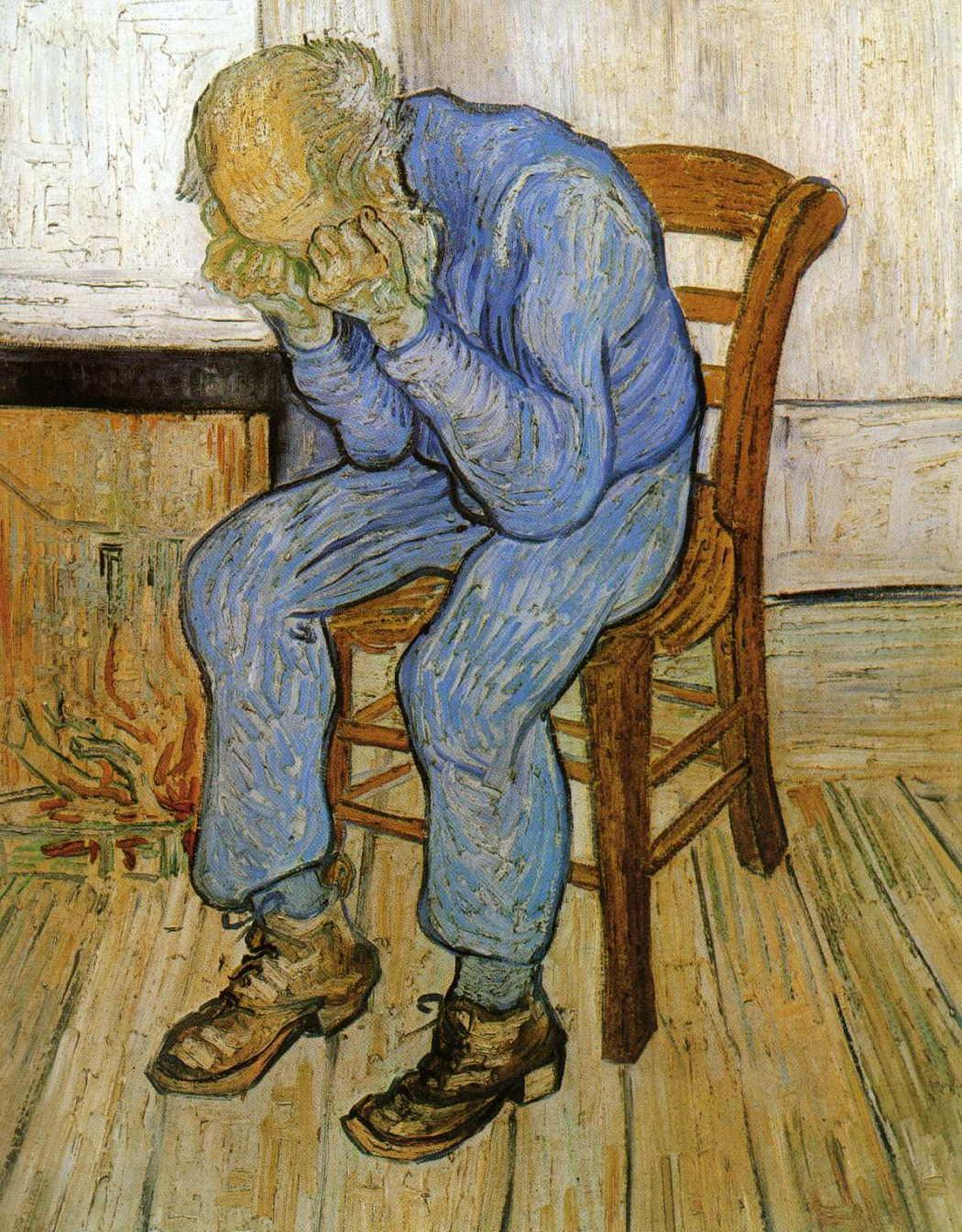 Old Man in Sorrow (On the Threshold of Eternity)