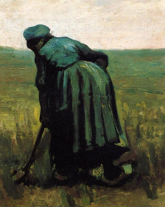 Peasant Woman Digging 1
