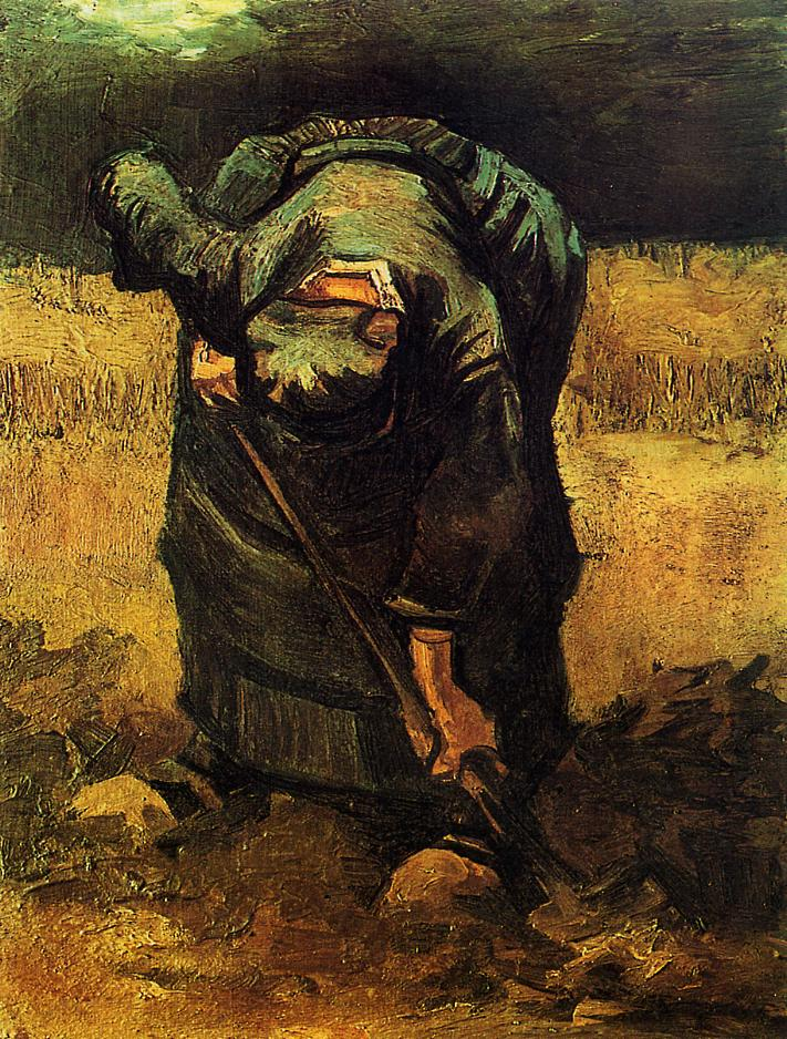 Peasant Woman Digging 2