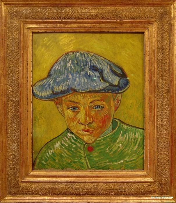 Peinture-Portrait-Post-Impressionnistes-1888-Vincent van Gogh