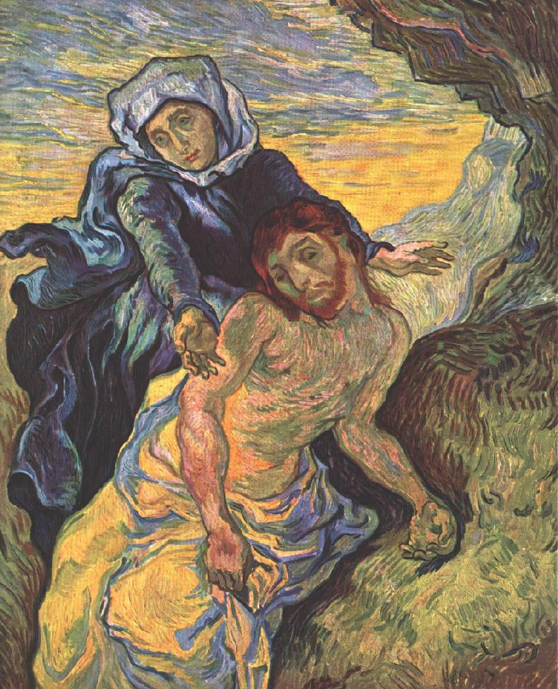 Pieta_(After_Delacroix)._1889