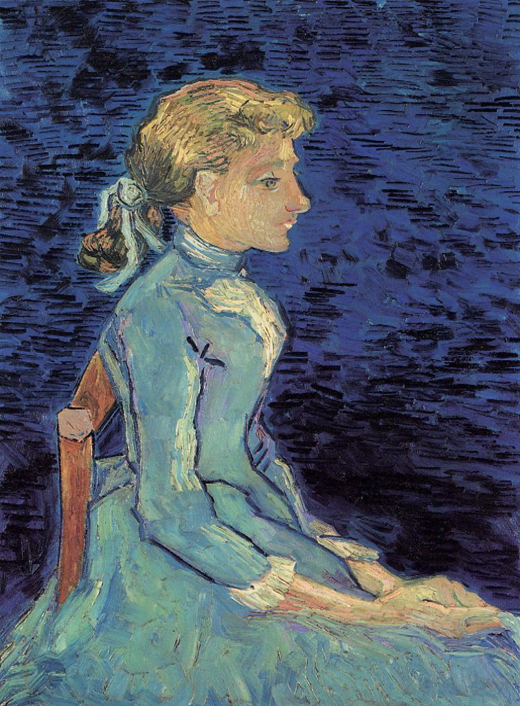 Portrait of Adeline Ravoux