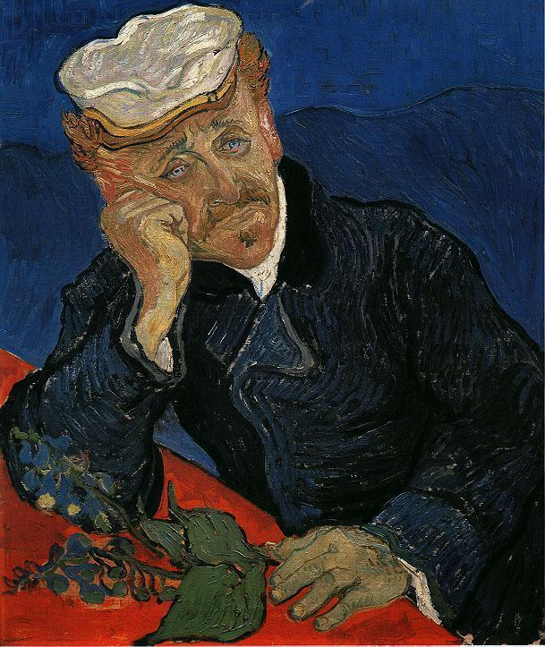Portrait of Doctor Gachet 1