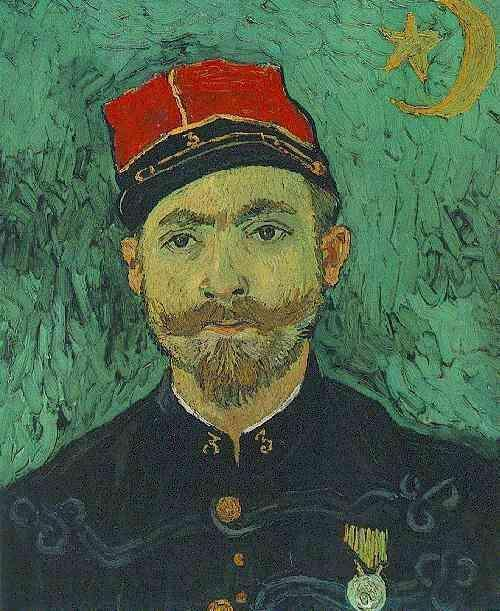Portrait of Milliet, Second Lieutanant of the Zouaves
