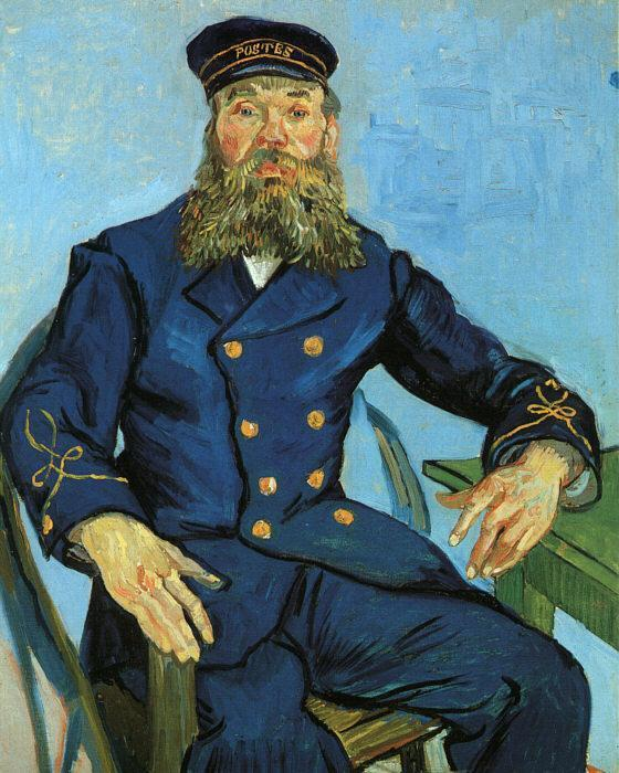 Portrait of the Postman Joseph Roulin 1