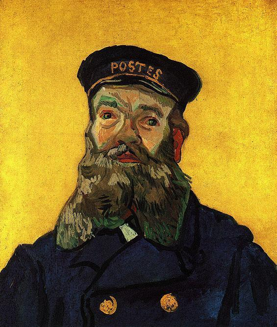 Portrait of the Postman Joseph Roulin 2