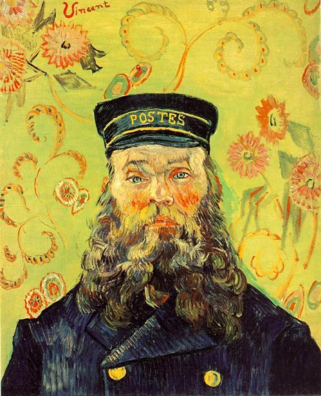 Portrait of the Postman Joseph Roulin 3