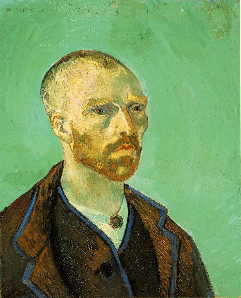 Self Portrait (Dedicated to Paul Gauguin)