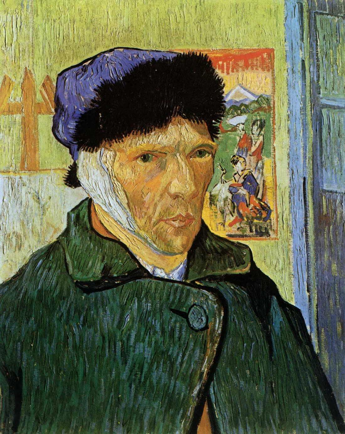 Self Portrait with Badaged Ear