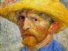 1887 Autoportrait au chapeau de paille 2