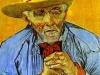 1888 Portrait d'un vieux paysan