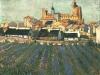 1888 Vue de Saintes-Maries