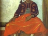1888 Zouave assis