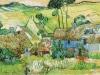 1890 Hameau sur une colline