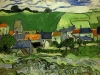 1890 Vue d'Auvers sur Oise